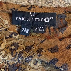 Carole Little Dresses - Boho Print Fully Lined Maxi Dress